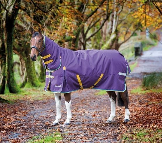 Shires Highlander Plus 200 Combo   200g Medium Weight Turnout Rug   ALL SIZES