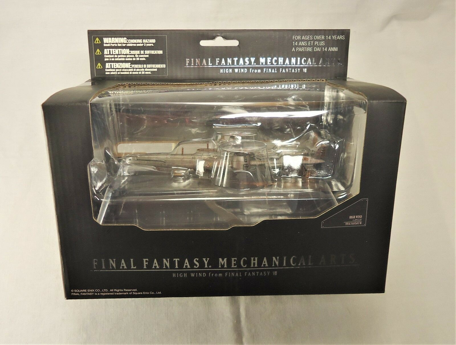 Final Final Final Fantasy Mechanical Arts HIGH WIND Square Enix (HTF) 0146a4