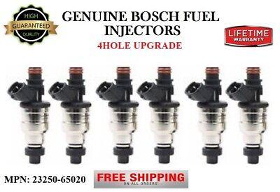4x Bosch MULTI-HOLE UPGRADE Fuel Injectors 2001-2003 Mazda Protege//Protege5 2.0L
