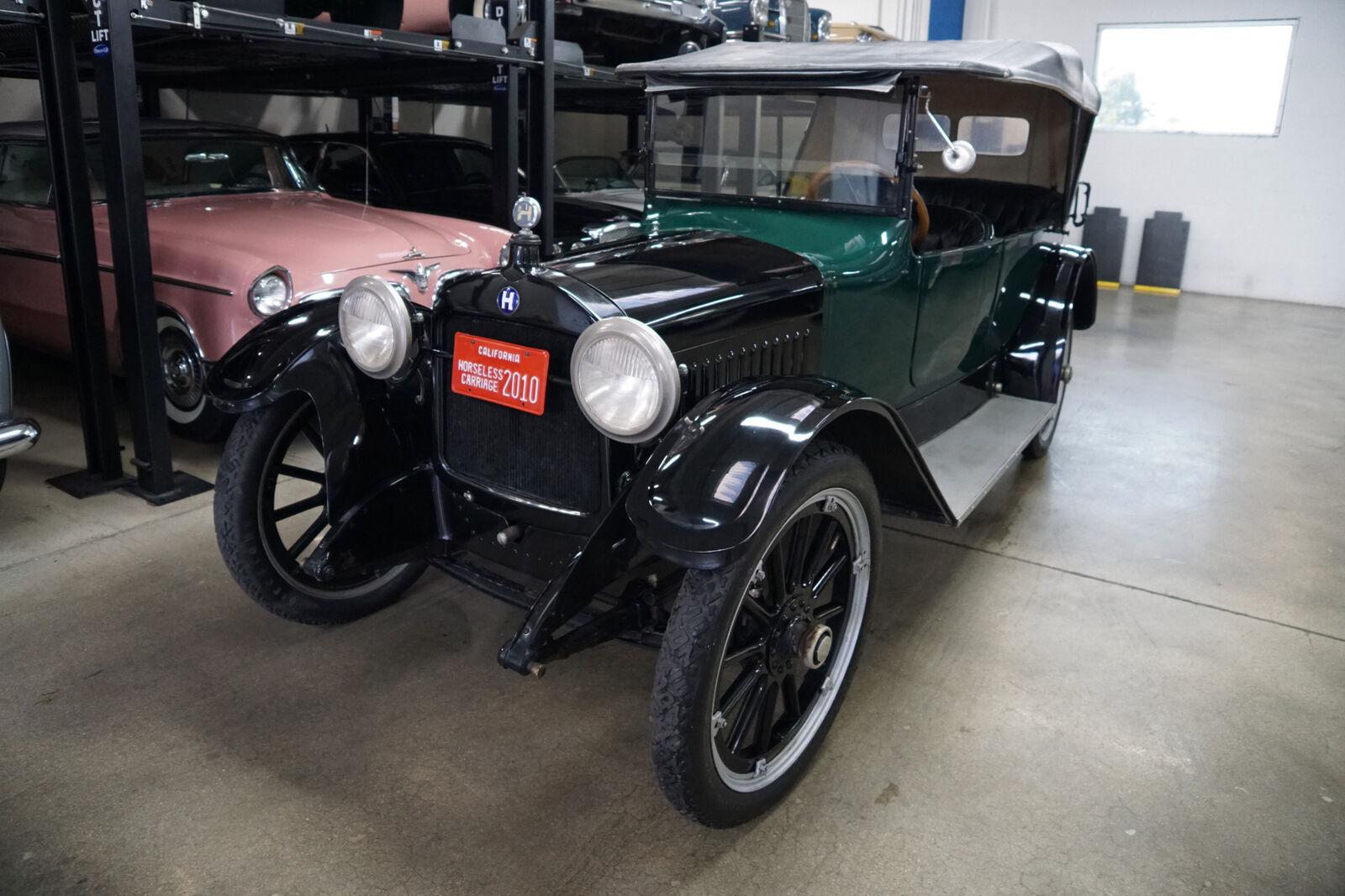 1915 Hupmobile Model K Five Passenger 4 cyl 36HP 119 WB Touring C