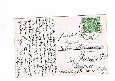 Hradschin 24.8.1911 N Österreich Schöne Farb Ansichtskarte Prag Furth Im Wald