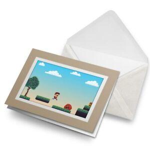 Greetings-Card-Biege-Gamer-Boy-Retro-Platform-Game-14800