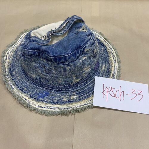 Kapital Distressed Denim Bucket Hat