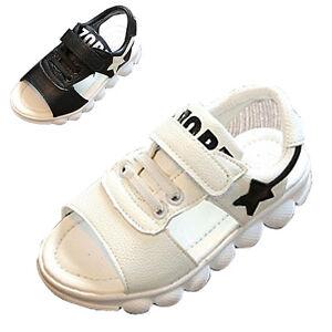 sandales pour enfants, été, école, mer, avec Velcro fermé