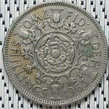 GREAT BRITAIN - 1963 - 2 Shillings Elizabeth II #CAMG