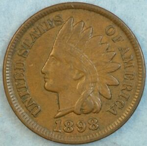 1898-Indian-Head-Cent-Vintage-Penny-Old-US-Coin-Liberty-Full-Rims-Fast-S-amp-H-76705