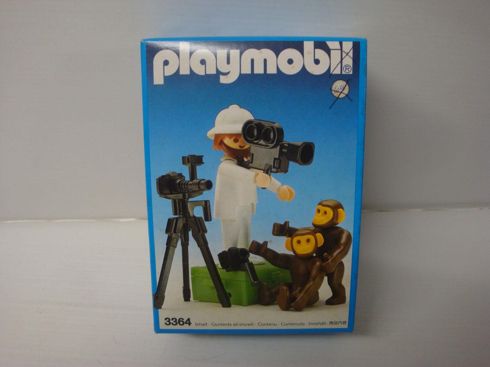 Playmobil ancien état neuf en boite scellée - photographe safari 3364 - n°1