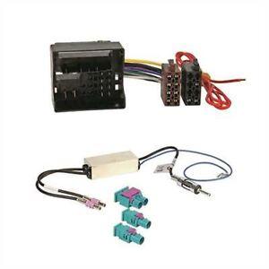 autoradio adapter mit antennen adapter fakra din f r vw. Black Bedroom Furniture Sets. Home Design Ideas