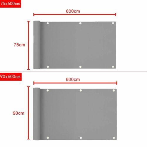 Balkonsichtschutz Windschutz Balkonbespannung Sichtblende Garten Windschutz UV