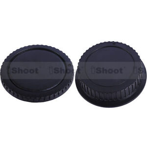 New-Style-Protector-Body-Cover-Rear-Cap-fr-Canon-EOS-Digital-Camera-amp-EF-EF-S-Lens