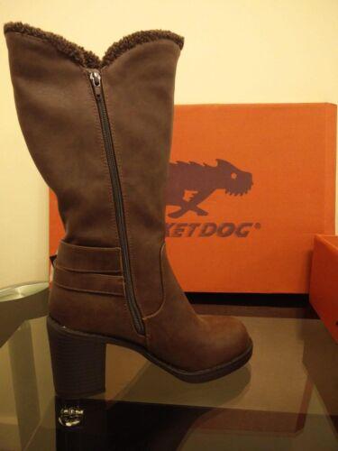 Sadler Brown euro Rocket Brown Dog Uk roast Womens 37 Boots 4 ERxxOagq