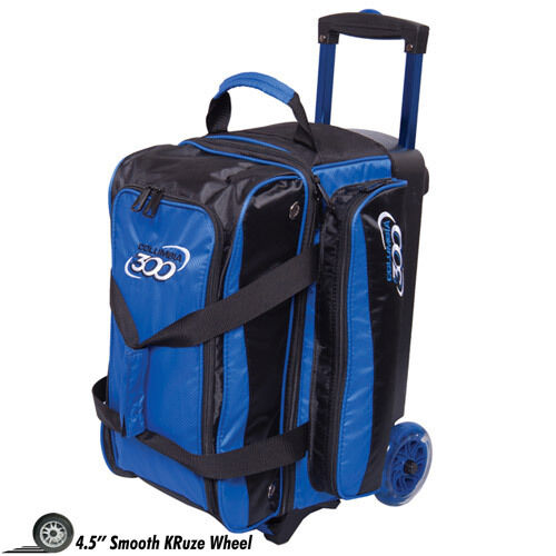 Columbia 300 Icon 2 Ball Roller Bowling Bag with Wheels bluee