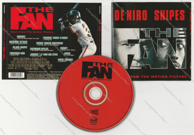 Robert De Niro Wesley Snipes The Fan Music From The Motion Picture AUS CD 11 trk