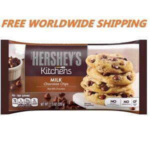 Hershey-039-s-Kitchens-Milk-Chocolate-Chips-11-5-Oz-WORLDWIDE-SHIPPING