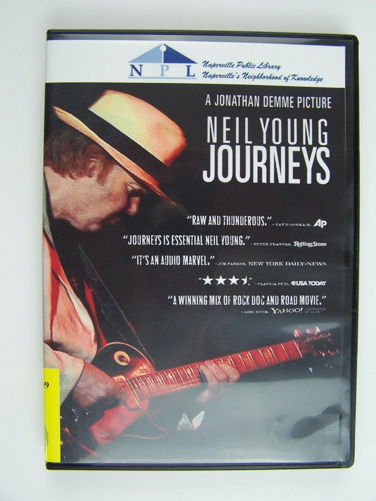Neil Young Journeys DVD 43396407848