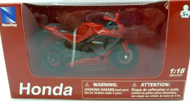 1//18 Scale Honda CBR600RR Plastic Motorcycle Model Motor Bike Red Street Racer