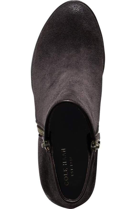 Cole Haan Hayes botaies marrón Suede Heels botas 10 10 botas f6636b