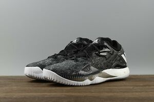 74c704b27999c0 Image is loading Mens-Adidas-Crazylight-Boost-Low-2016-Black-Basketball-