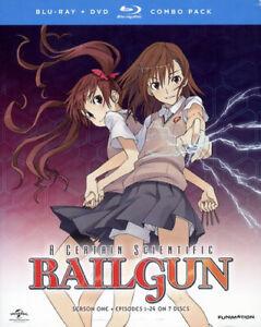 A-Certain-Scientific-Railgun-Season-1-First-Season-7-Disc-DVD-BLU-RAY-NEW