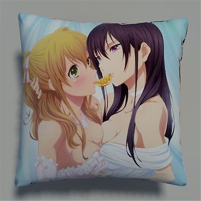 Citrus Anime Manga two sides Pillow Cushion Case Cover 655