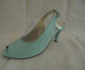 Gr Conti Schuhe Zu Sling Mint Andrea Sandalette Details 428Neu Sandale EYD29eWHIb