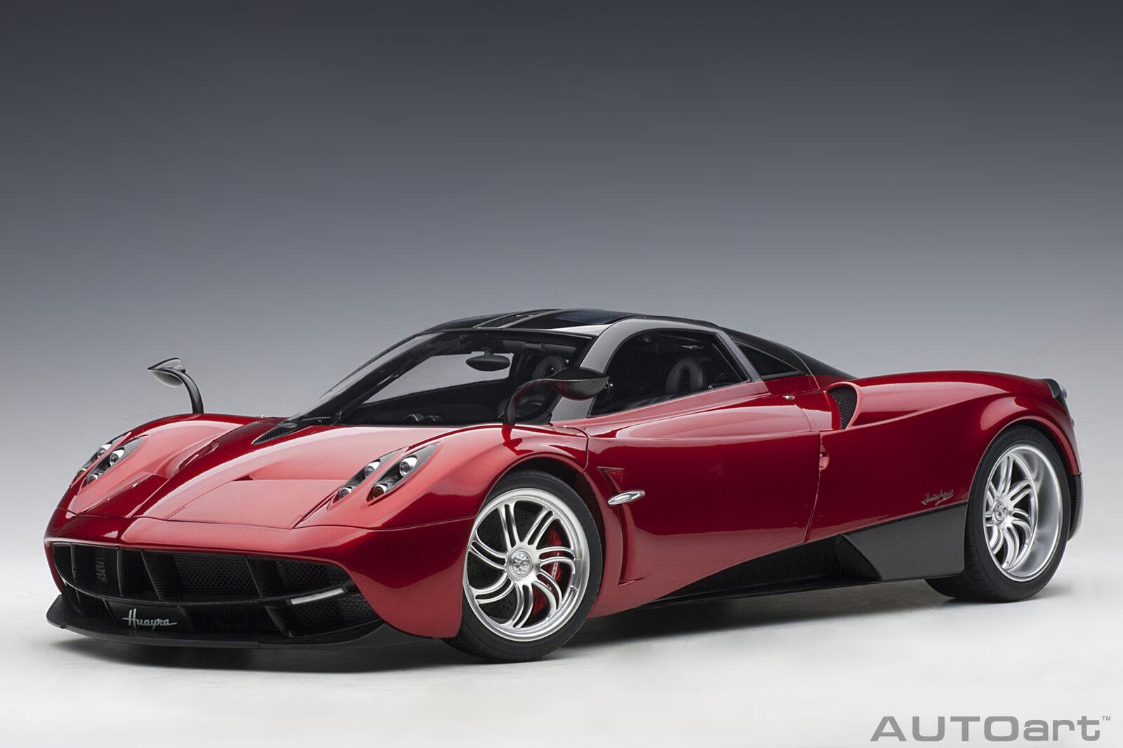 buen precio Pagani Huayra 2011 2011 2011 rojo Met AUTOART 1 12 AA12234  el estilo clásico