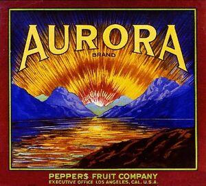 Claremont Los Angeles California Stork Orange Citrus Fruit Crate Label Art Print