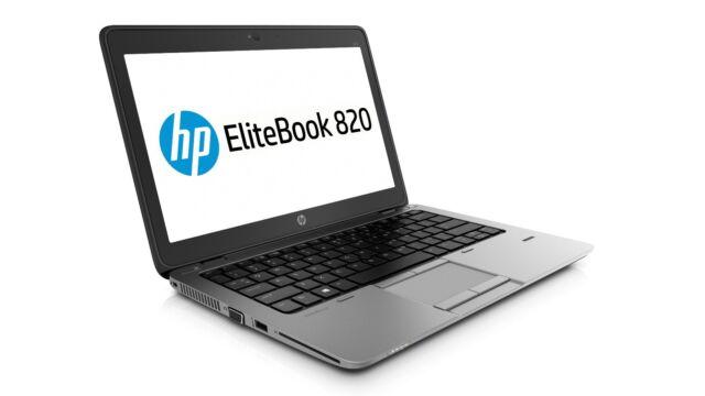 """HP EliteBook 820 G1 12.5"""" i5-4310U 3.0 Ghz 128GB SSD 8GB Win10 Pro"""
