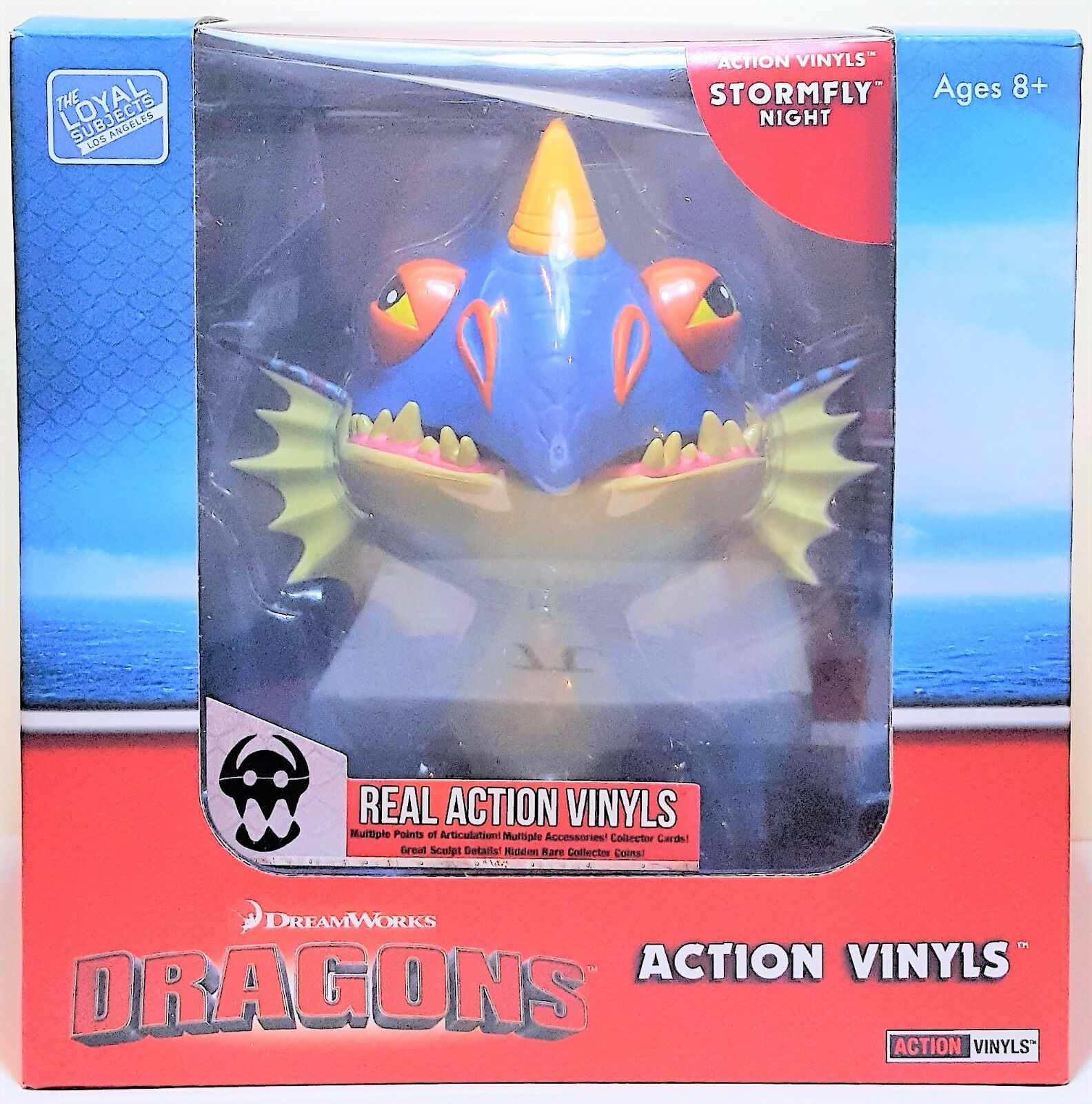 Stormfly Night How To Train Your Dragon Real Action Vinyl The Loyal Subjects LA