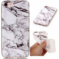Granite Marble Pattern Shockproof Soft TPU Rubber  Slim Back Case For Cell Phone