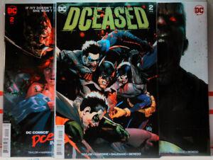 DCEASED-2019-2-Mattina-HORROR-VARIANT-SET-A-B-C-dc-comics-NM-Superman-BATMAN