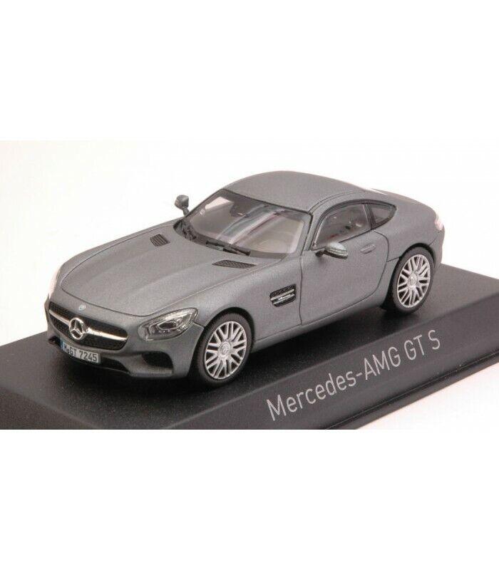 MERCEDES AMG GT S 2015 MATT gris 1 43
