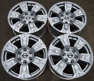 New-Takeoff-Nissan-Titan-Armada-18-034-Factory-OEM-Alloy-Wheels-Rims-62752-2016-19