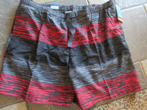 NEW COLUMBIA WHIDBEY SWIM SUIT WATERSHORTS TRUNKS MENS XXL MULTICOLOR  FREE SHIP
