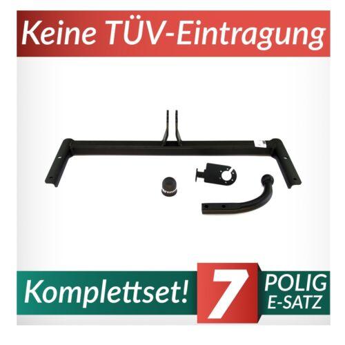 Volkswagen Polo III 6N2 3//5-Tür Schrägheck 99-01 Anhängerkupplung starr+ES 7pol
