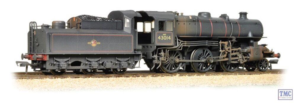 32-580A Bachuomon OO Gauge Ivant classe 4MT 43014 BR Weatherosso