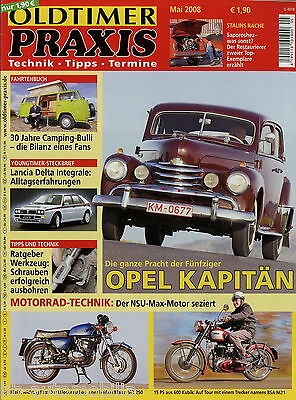 Selbstbewusst Befangen Unsicher Verlegen Oldtimer Praxis 2008 5/08 Bsa M21 Maico Md 250 Nsu Max Saporoshez Vw T2 4cv Auto Gehemmt