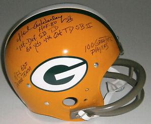PACKERS-Herb-Adderley-signed-TK-F-S-STAT-helmet-w-5-Insc-JSA-COA-AUTO-Autograph