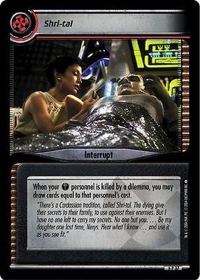 Star Trek CCG 2E Reflections 2.0 Foresight FOIL 6P21