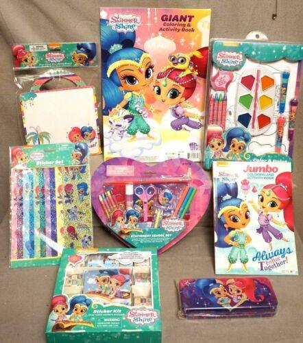 Nickelodeon brillo y brillo Actividad Para Colorear Lote de 8 a estrenar en paquete