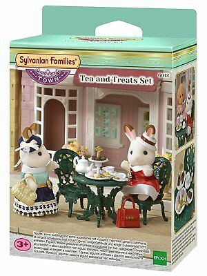 Toys & Hobbies Painstaking Sylvanian Families 6012 Tea And Treats New Town Animals & Dinosaurs