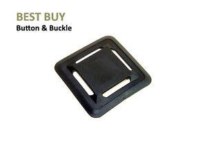 """10-100 pcs Black Plastic Square Pads 1"""" #PK410"""