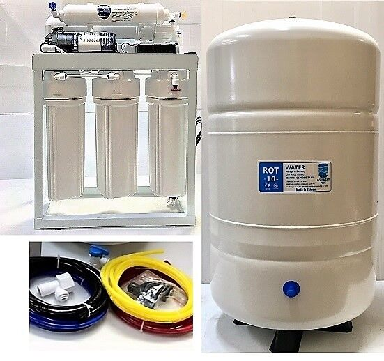 Light Commercial Reverse Osmosis Water Filter System 300 GPD - ROT-10 RO Tank