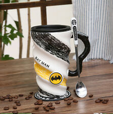Novelty Super hero Milk Coffee Tea Mug Large capacity Cup Gifts Batman