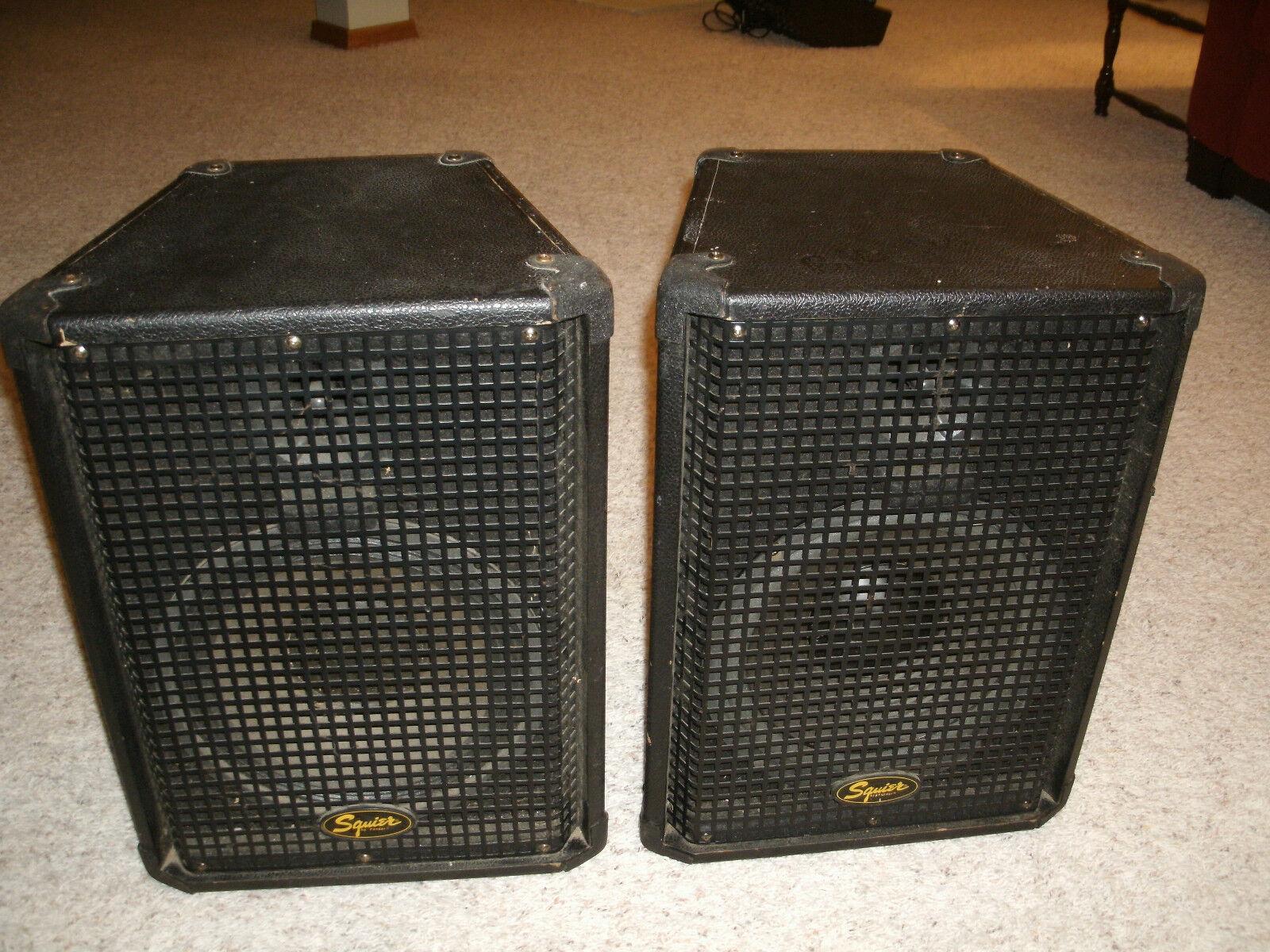 Squier by Fender Professional Speakers - Work Great