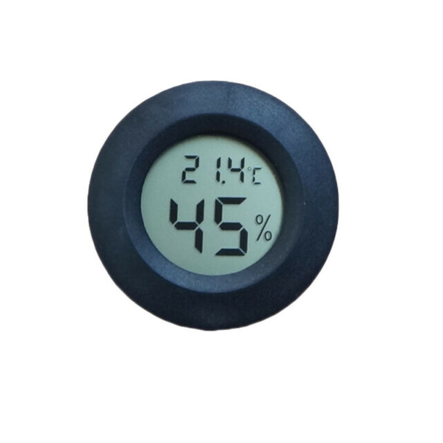 New Mini LCD Display Thermometer Hygrometer Temperature Humidity Meter Digital