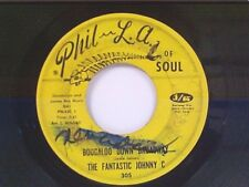 """FANTASTIC JOHNNY C """"BOOGALOO DOWN BROADWAY / LOOK WHAT LOVE CAN MAKE YOU DO"""" 45"""