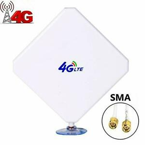 35dBi-4G-LTE-Broadband-SMA-Connector-Antenna-Signal-Amplifier-For-Mobile-Router
