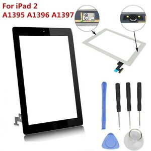 Touch-Screen-Digitizer-Glass-Lens-Replacement-For-Apple-iPad-2-A1395-A1396-A1397