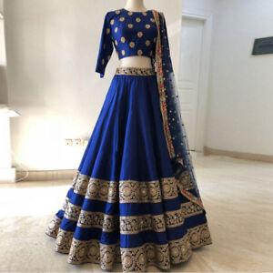 8385bd85e57 Image is loading Wedding-Wear-Lehenga-Designer-Indian-Bollywood-Lengha-Choli -